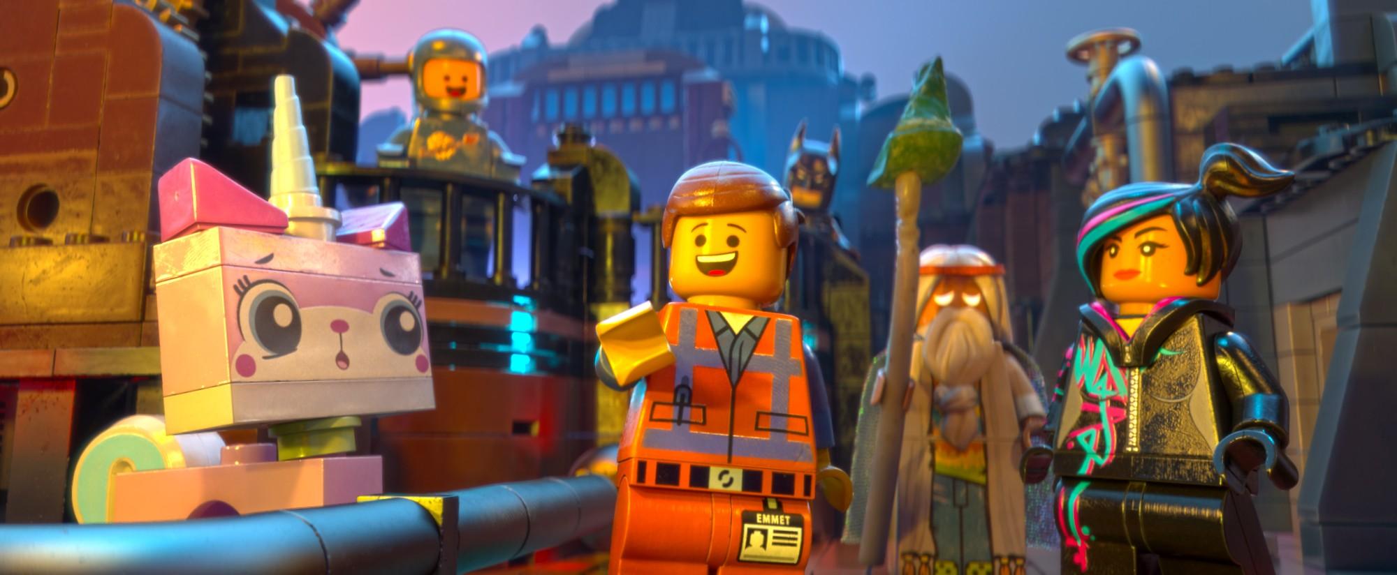 The Lego Movie ... Unikitty Space